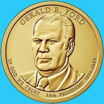 США 1 доллар 2016 год. Джеральд Форд. Р.
