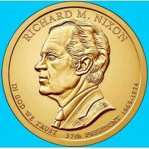 США 1 доллар 2016 год. Ричард Никсон. Р.