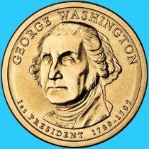 США 1 доллар 2007 год. Джордж Вашингтон. Р.