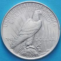 США 1 доллар 1923 год. Мирный Доллар. Серебро.