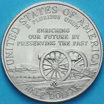США 50 центов 1995 год. S. Сражения гражданской войны. Барабанщик.