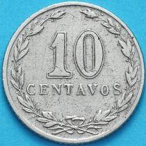 Аргентина 10 сентаво 1911 год.