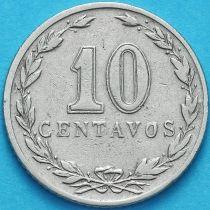 Аргентина 10 сентаво 1920 год.