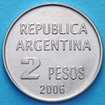 Аргентина 2 песо 2006 год. Защита прав человека.