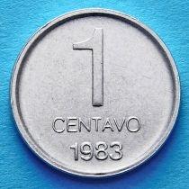 Аргентина 1 сентаво 1983 год.