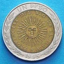 Аргентина 1 песо 1994-2010 год.
