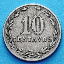 Аргентина 10 сентаво 1899 год.