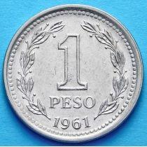 Аргентина 1 песо 1957-1961 год.