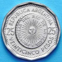Аргентина 25 песо 1964-1967 год