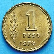 Аргентина 1 песо 1974-1980 год.