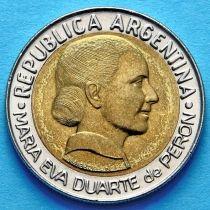 Аргентина 1 песо 1997 год. Ева Перон.