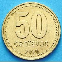 Аргентина 50 сентаво 2010 год. Администрация провинции Тукуман.