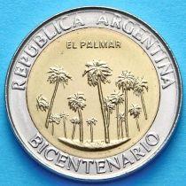 Аргентина 1 песо 2010 год. Национальный парк Эль Палмар.