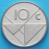 Аруба 10 центов 1999-2009 год.