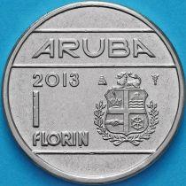Аруба 1 флорин 2013 год.