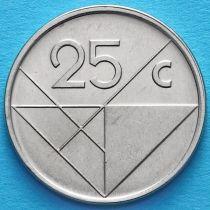 Аруба 25 центов 2003-2009 год.