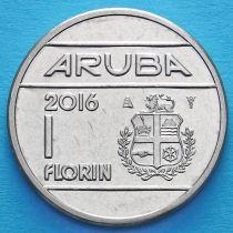 Аруба 1 флорин 2016 год.