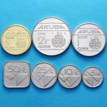 Аруба набор 7 монет 1986-2012 год