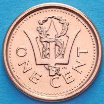 Барбадос 1 цент 2011 год. Трезубец.