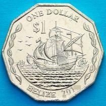 Белиз 1 доллар 2015 год.