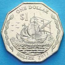 Белиз 1 доллар 2012 год.