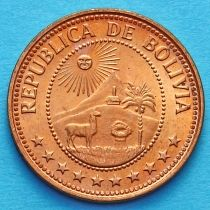 Боливия 10 сентаво 1973 год.