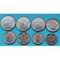 Бразилия набор 8 монет 1989-1991 год. Профессии