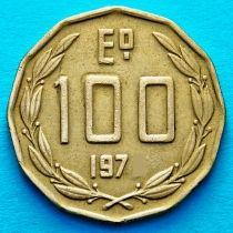 Чили 100 эскудо 1975 год.