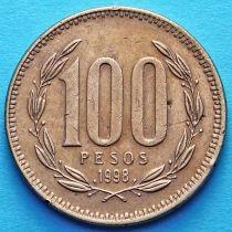 Чили 100 песо 1992-1998 год.