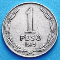 Чили 1 песо 1975 год.