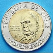 Чили 500 песо 2008 год. Рауль Сильва Энрикес.