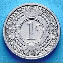 Нидерландские Антилы 1 цент 2008 год.