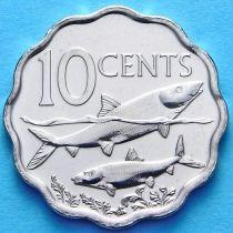 Багамские острова 10 центов 2010 год. Бонфиш.