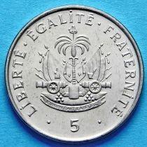 Гаити 5 сантим 1997 год.