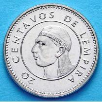 Гондурас 20 сентаво 1996-2012 год.