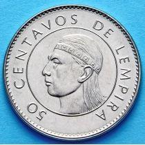 Гондурас 50 сентаво 2007-2012 год.