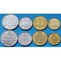 Гайана набор 4 монеты 1988-1992 год.