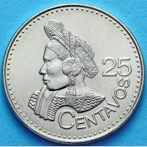 Гватемала 25 сентаво 2011 год. Индианка