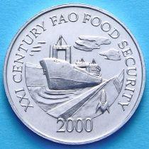 Панама 1 сентесимо 2000 год. ФАО