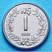 Уругвай 1 песо 1989 г.