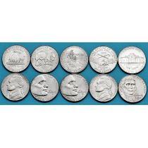 США набор 5 монет 2004-2006 год. 200 лет Освоения Запада.