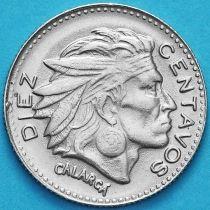 Колумбия 10 сентаво 1963 год.