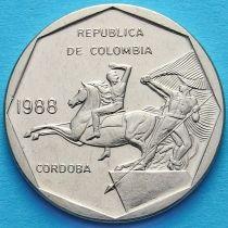 Колумбия 10 песо 1981-1989 год.