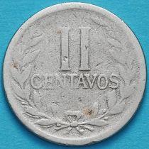 Колумбия 2 сентаво 1919 год.