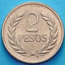 Колумбия 2 песо 1978 год. Симон Боливар.