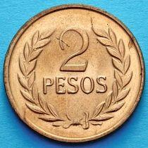 Колумбия 2 песо 1987 год. Симон Боливар.
