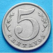 Колумбия 5 сентаво 1886 год. №1