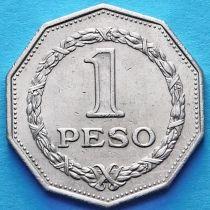 Колумбия 1 песо 1967 год. Симон Боливар.
