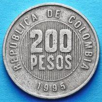 Колумбия 200 песо 1995 год. Веретено Кимбайя.