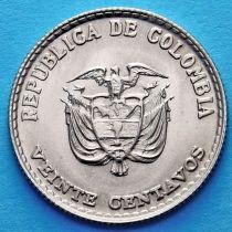 Колумбия 20 сентаво 1965 год. Хорхе Эльесер Гайтан.